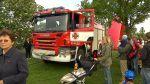 Dozor hasičů při pálení čarodějnic